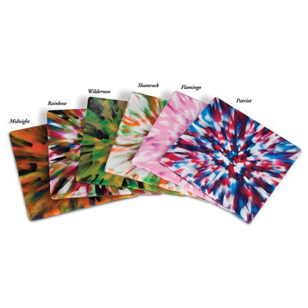 Tie-Dye Mouthguard Sheet Assortment