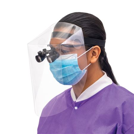 Clear-All Face Shield 8/Pack