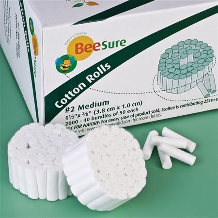 BeeSure Cotton Rolls