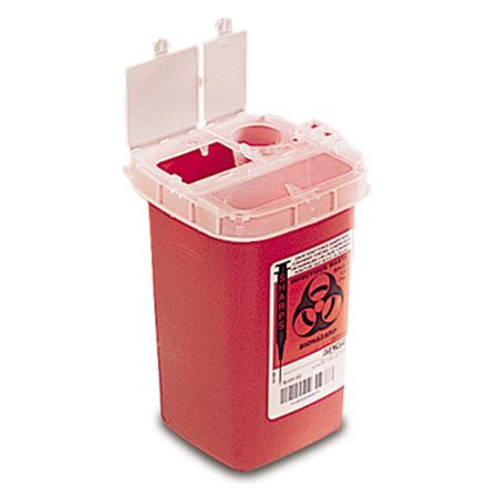 1-Quart Sharps Container 10-Pack 10/Each