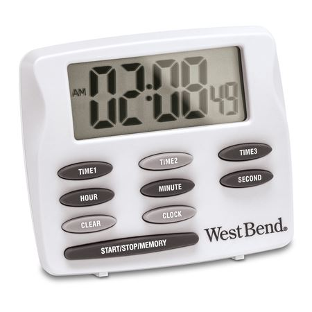 Clock/Triple Electronic Timer