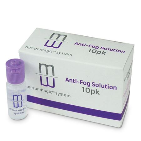 Mirror Magic Anti-Fog Solution - 10 Pack