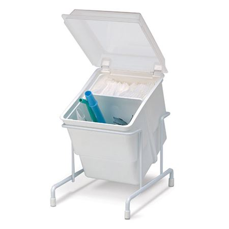 Zirc Organizer Storage Tub with Clear Cover