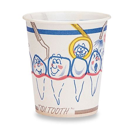 Tidi Tooth Paper Cups