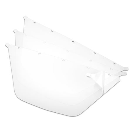 Dental Visor Replacement Shields 3-Pack