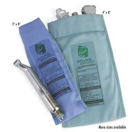 "4"" X 8"" Enviropouch Reusable Instrument Sterilization Pouch"