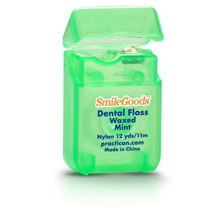 SmileGoods Mint Waxed Dental Floss