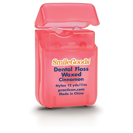 SmileGoods Cinnamon Waxed Dental Floss