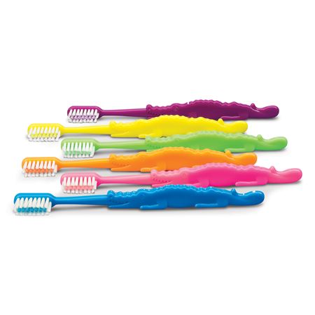 Alligator Child Toothbrushes - Bulk