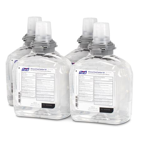 Purell Tfx Gel Sanitizer Refill 4/Case