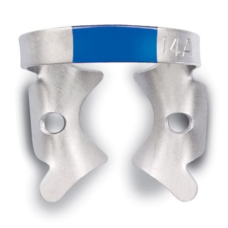 Fiesta No.14A Blue Winged Rubber Dam Clamp 1/Each