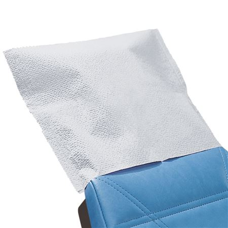 "Polycoated 10"" X 10"" Headrest Covers"