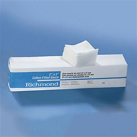 Richmond Dental 2 X 2 Non-Woven Poly/Rayon Sponges