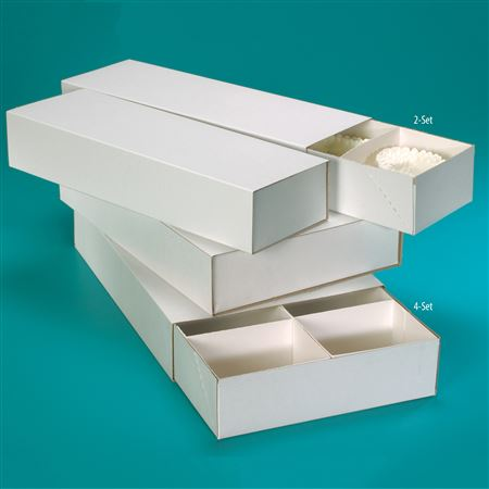 Four-Set Model Storage Boxes