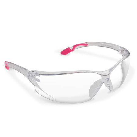 Achieva Pink Temple Safety Glasses