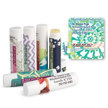 Tooth Spiral Lip Balms - Bulk