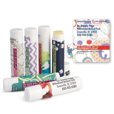 Dental Whimsy Lip Balms - Bulk 250/Pack