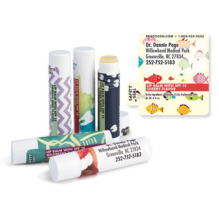 Colorful Fish Lip Balms - Bulk