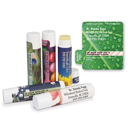 Morning Leaf Lip Balms - Bulk 250/Pack