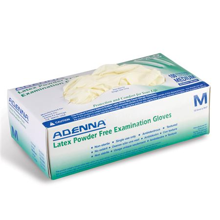 Adenna Gold Powder-Free Latex Exam Gloves