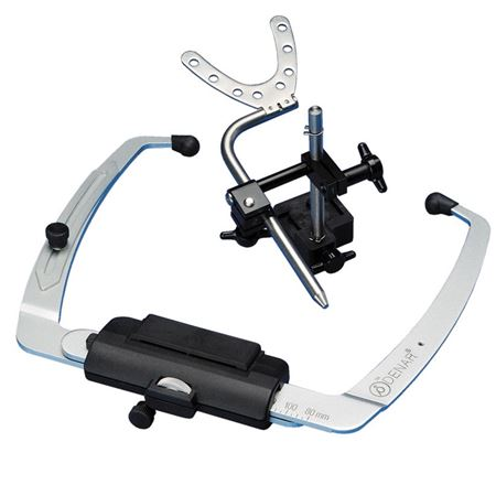 Denar Slidematic Facebow With 1 Hanau Jig And Maxillary Cast Support