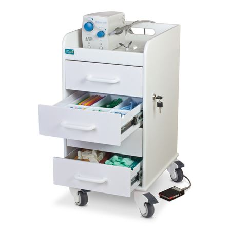 Core Four-Drawer Locking Cart