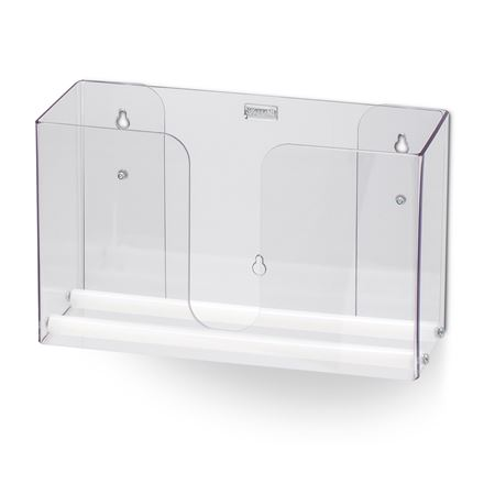 Single Clear Dual-Dispensing Paper Towel Holder