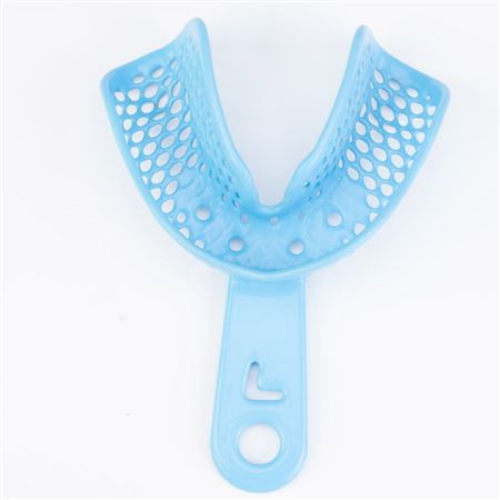 CTrays Metal Impression Trays Large (Blue) Lower Arch