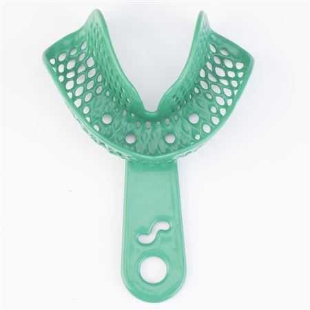 CTrays Metal Impression Trays Small (Green) Lower Arch