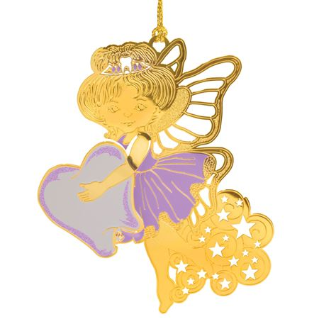 Tooth Fairy Brass Ornament