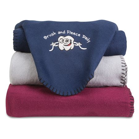 Brush And Fleece Blanket