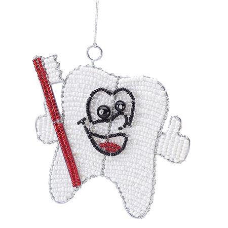 Beaded Tootie Ornament