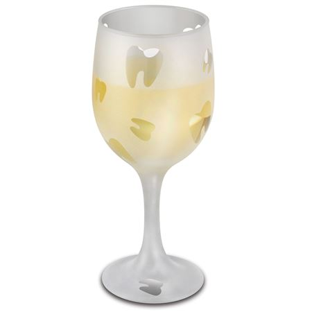 11.5 oz. Etched Wine Glass