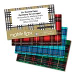 Personalized Plaid Mobile Floss