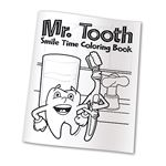 Personalized Mr. Tooth Coloring Books