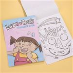 Love Your Teeth Mini Coloring Book