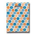 9 X 12 Dental Dots Scatter Print Bag - Bulk