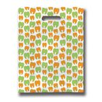 9 X 12 Many Mini Molars Scatter Print Bag - Bulk