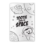 Tootie Goes To Space Coloring Books