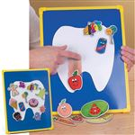 Tooth-Friendly Snacks Magnetic Board
