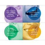 Smile Quotes Practicare Postcard