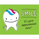 Rootie Smile Reminder Laser Card