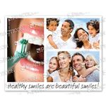 Healthy Smiles Practicare Postcard