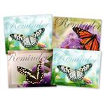 Butterfly Reminder Practicare Postcard