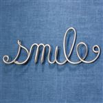 Smile Word Sculpture