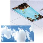 Clouds 3 Light Panel