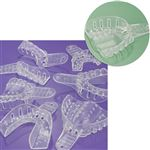 No.3 Medium Upper Arch Excellent-Clear Impression Trays 12/Bag