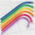 Colorflex Disposable Saliva Ejectors - 100 Pack