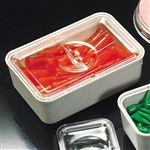 Double Procedure Tub Cup with Cover