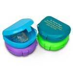1 Inch Deep Personalized Assorted Retainer Boxes - 12 Pack